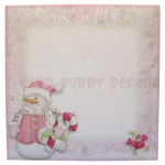 A Wonderful Time of Year Shaped Fold Card - envelope front