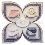 Shoes with Bags of Style Quad Petal Shaped Fold Card - view 1