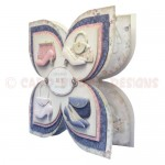 Shoes with Bags of Style Quad Petal Shaped Fold Card - view 2