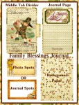 Family Blessings Journal Mini Book