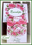 Birthday Roses Triple Pocket Card with Tags and Envelope Set