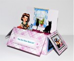 The Sewing Room - 3D Pop Up Box Card Kit, Assorted Tags
