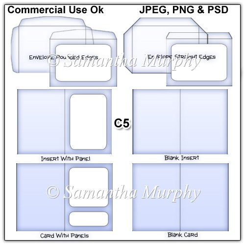 #9 Wallet Flap Envelope Template