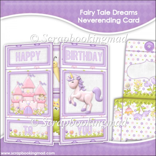 Fairy Tale Dreams Neverending Card - Click Image to Close