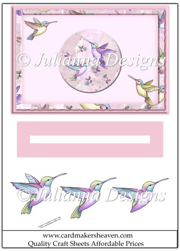 Humming bird Slider Sheet - Click Image to Close