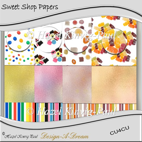 Sweet Shop Papers - Click Image to Close
