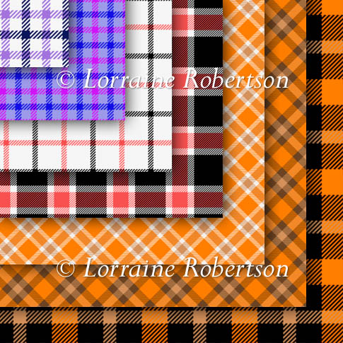 Tartan Backing Papers - Click Image to Close
