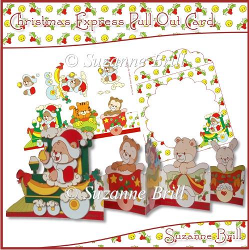 Christmas Express Pull Out Card - Click Image to Close