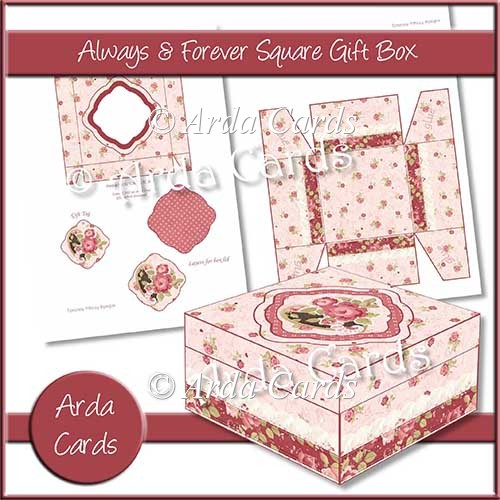Always & Forever Square Gift Box - Click Image to Close