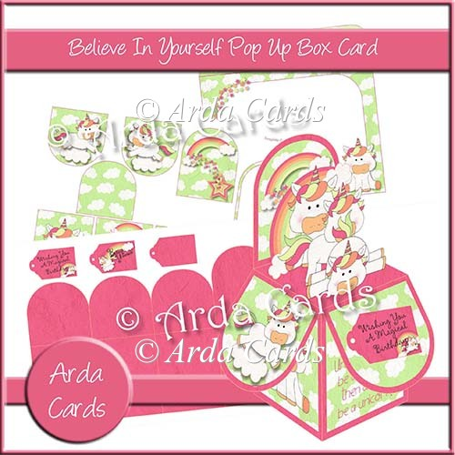 Believe In Yourself Pop Up Box Card - Click Image to Close