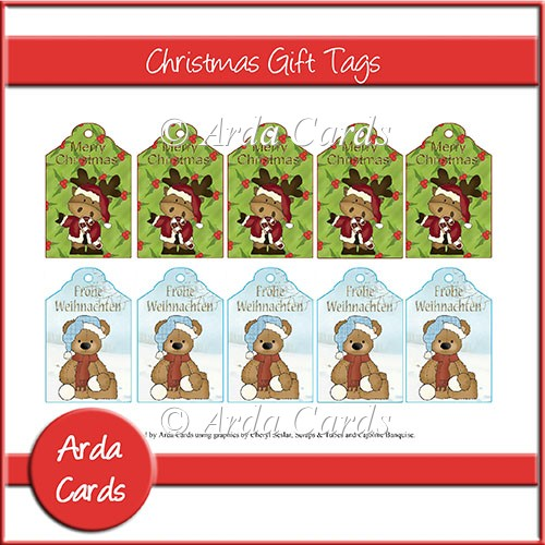 Christmas Gift Tags - Click Image to Close