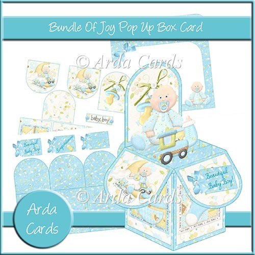Bundle Of Joy Pop Up Box Card - Click Image to Close