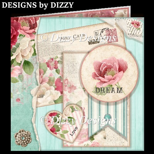 Shabby Chic Dream Card - Click Image to Close