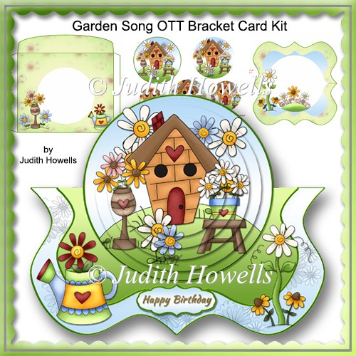 Garden Song OTT Bracket Card Kit - Click Image to Close