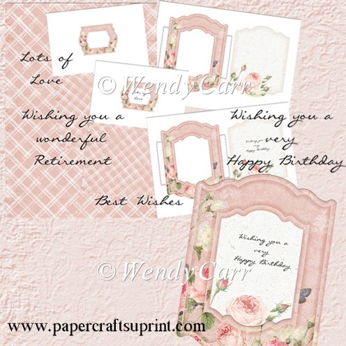 RTP - Floral Frames - Rose Creation 1(Retiring in August) - Click Image to Close