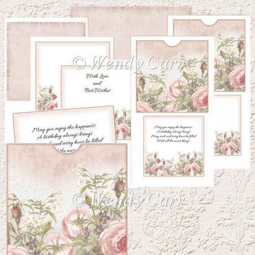 RTP Pocket & Slip - Rose Creation Vintage(Retiring in August) - Click Image to Close