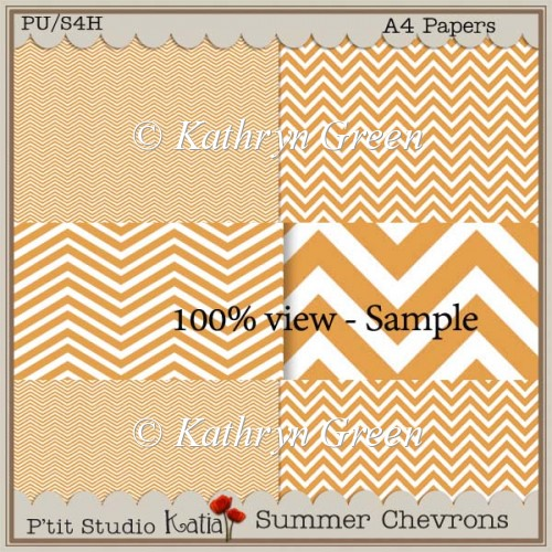 Free Sample of Summer Chevrons Papers - Click Image to Close