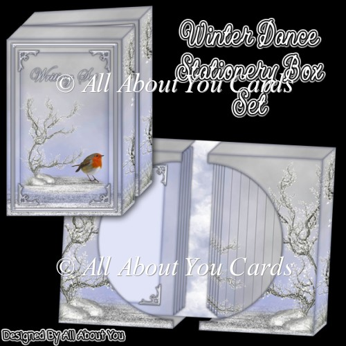Winter Dance Stationery Box Set - Click Image to Close