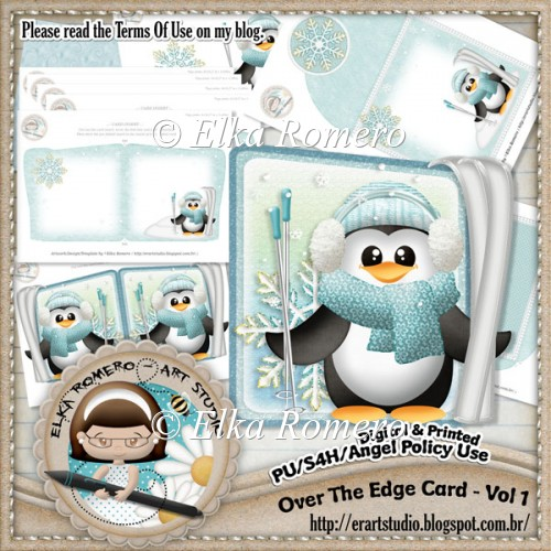 Over The Edge Card - Vol 1 (Winter & Holidays) - Click Image to Close