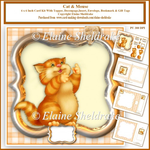Cat & Mouse Card Kit - Click Image to Close