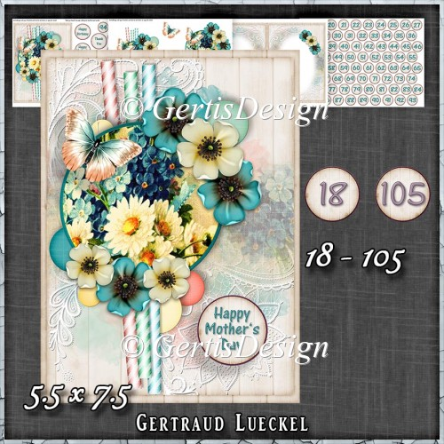 In Love With Flowers Card Kit 1435 - Click Image to Close