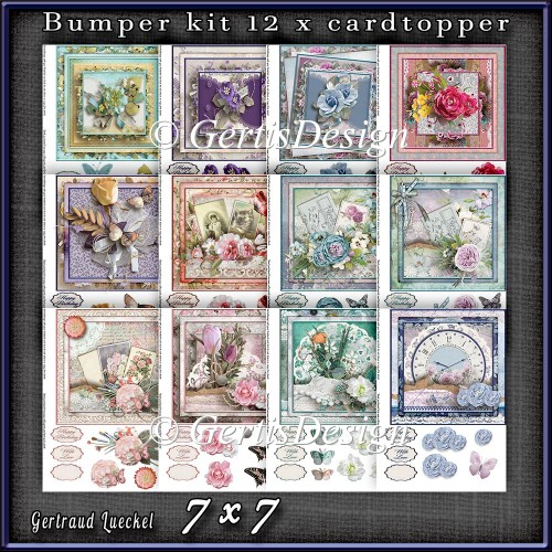 Bumperkit So many Flowers 1282 - Click Image to Close