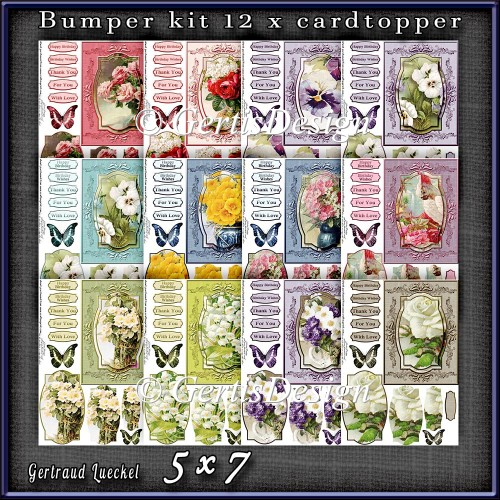Bumperkit So many Flowers 1281 - Click Image to Close