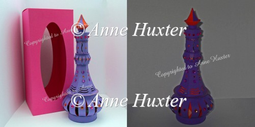 3D Genie Bottle Template - PDF - Click Image to Close