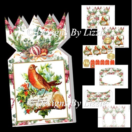 Christmas Cracker Songbird Mini Kit - Click Image to Close